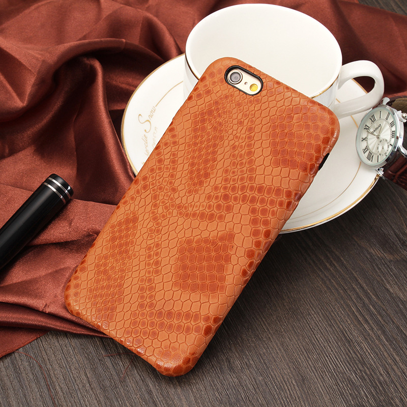 wp1027d New Snake Pattern Leather Phone Case for Motorola Mobile