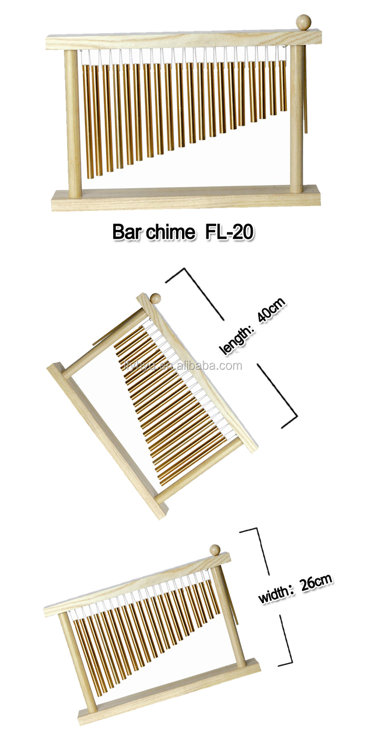names of musical instrument aluminium tube chime for education games