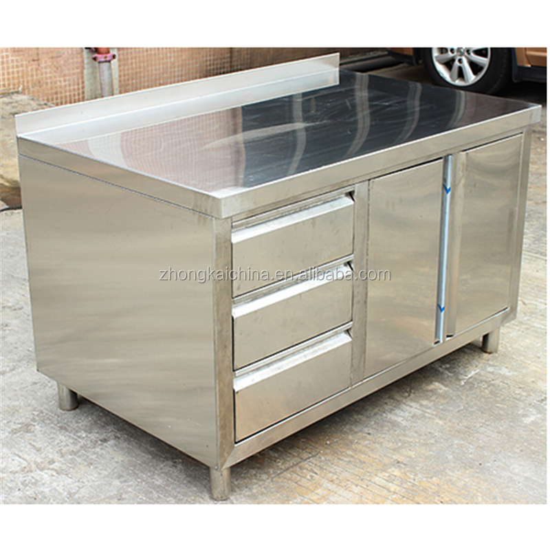 Used Metal Kitchen Cabinets: Cheap Modular Stainless Steel Outdoor Used Kitchen Pantry