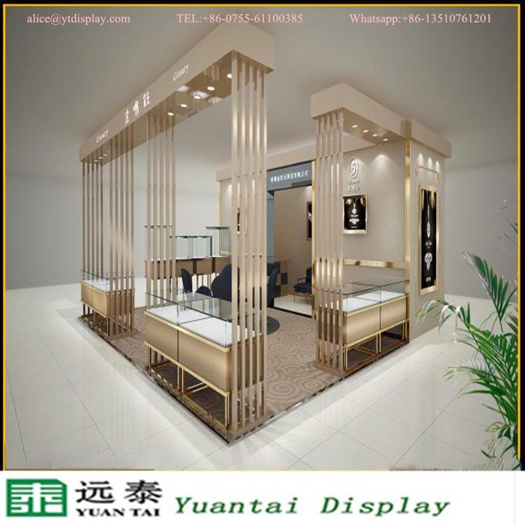 Built In Wall Jewelry Showcase Jewellery Shop Furniture