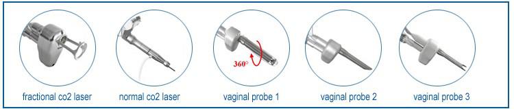 Fractional co2 laser vaginal tigthen machine