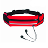 Outdoor sport running belt waist pack belly pack, travel gym hiking trekking jogging runner fitness workout waist belly pack