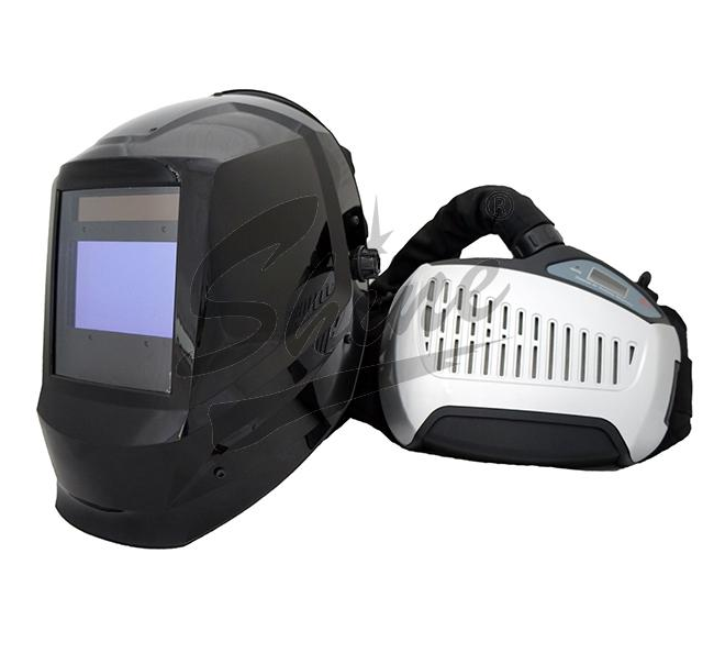 welding mask with respirator