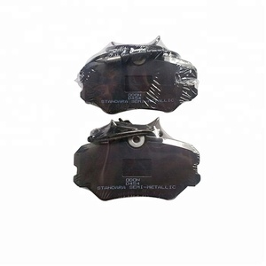 D454 High Quality Ceramic and Semi-metallic Disc Brake Pads for Peugeot 405