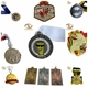 Custom metal trophies and medals china sports medals and trophies