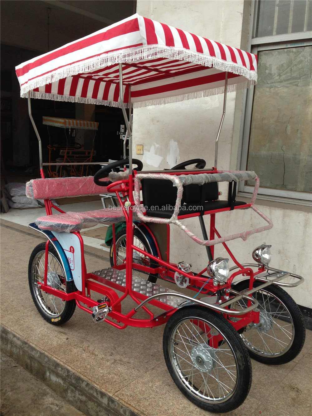 fashionable four wheel bike for adults quadricycle for sale buy surrey bicycle surrey bike. Black Bedroom Furniture Sets. Home Design Ideas