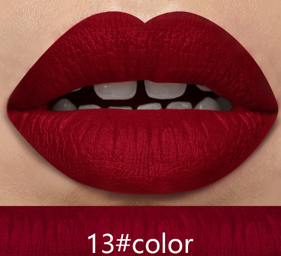 21 colors OEM private label custom matte waterproof lipstick matte lipstick accept dropshipping