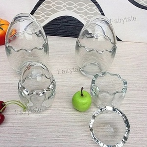 Egg Shell Putting Glasses High Temperature Resistance Glass Yogurt Cup