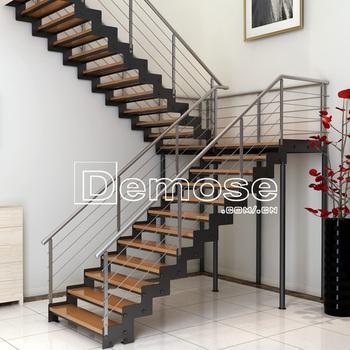 Decorativas De Hierro Forjado Pasamanos De La Escalera Interior
