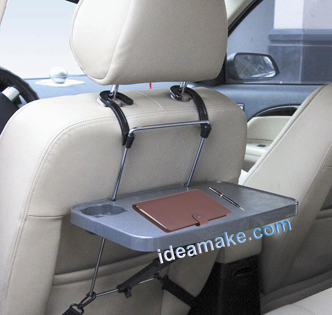 Portable Travel Laptop Table Notebook Table Portable Car Desk Auto Backseat  Tray