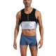 Mens Hot Shirts Slimming Fitness Body Shaper Tank Top Silver Coated Sweat Sauna Fat Burner Vest Weight Loss Waist Trainer