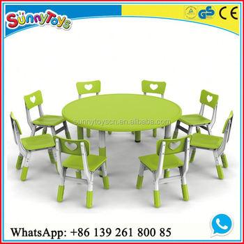 Guardería Niños Muebles Gabinete Mesa Niño Preescolar Silla Mesa Y ...