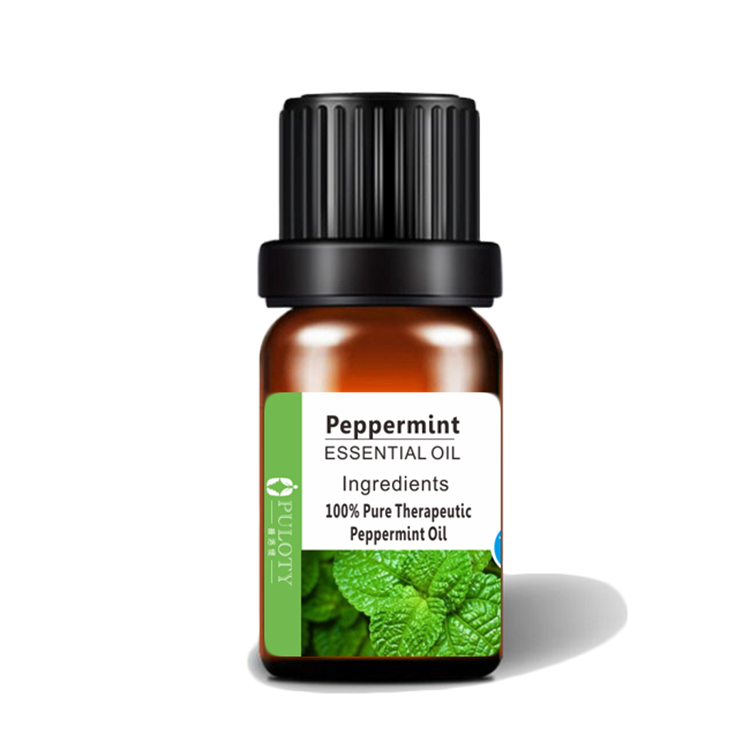 Certified 100% Natural and Pure Peppermint essential oil