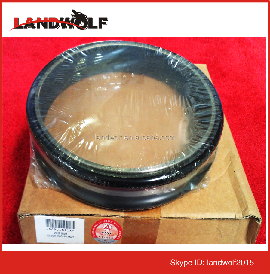 Excavator floating seal kits/oil seal kits for Liugong/Zoomlion spare parts