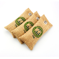 100% Natural Auto Air purifying bag deodorizer sachet Bamboo charcoal for shoes