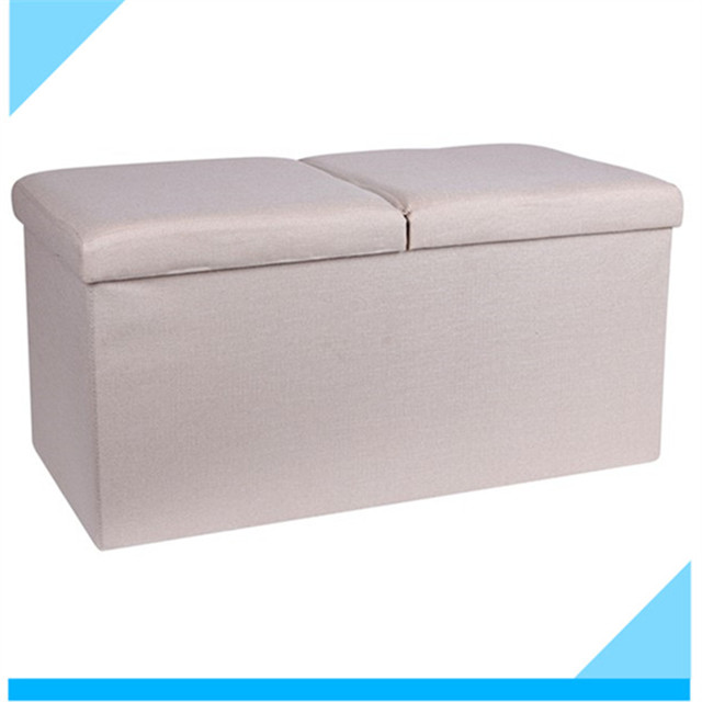 cheap items to sell free sample alibaba wholesale cuboid 76 cm space saving furniture boards mdf folding ottoman footrest