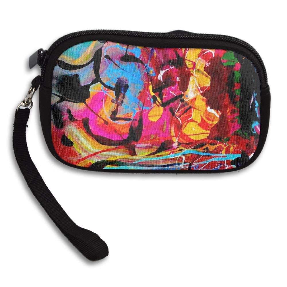 WCVRUT Unisex Clutch Wallet For Woman Ladies -Abstract World Long Purse Bag Men Gentlemen