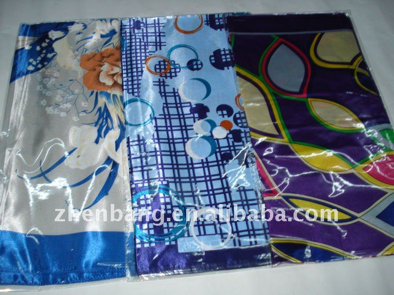 2012 New Coming Flower Scarf From Zhen Bang Factory