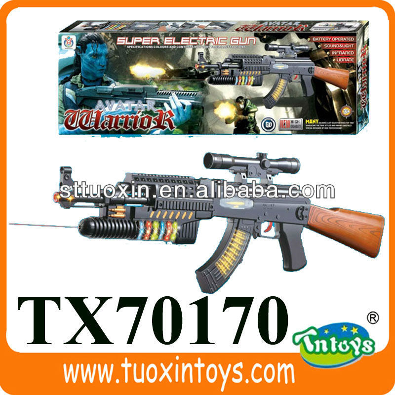 happy paintball kids toy guns with light and infrared