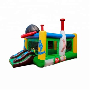 Baseball Bounce House New Bouncy Castles Commercial Inflatable Bouncers