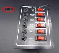 12 V Switch Panel For Marine Boat