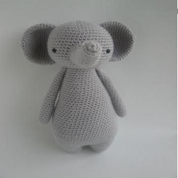 Hoch Elefant Mit Hut Amigurumi Muster Durch Little Bear Häkeln,100 ...