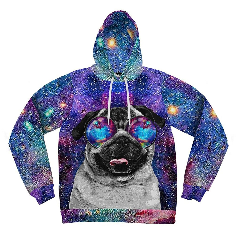 Beloved Shirts Galaxy Pug Hoodie