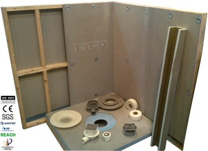 Hot Selling Pro Slope Easy Walk-in Shower Tray From Factory