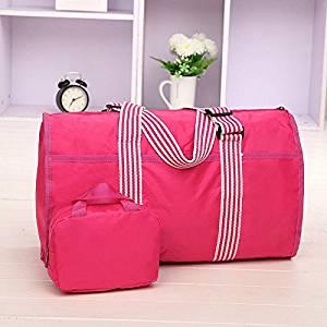 Rose Men Women Travel Hand Luggage Shoulder Bag Sports Gym Bag Weekend Overnight Bag