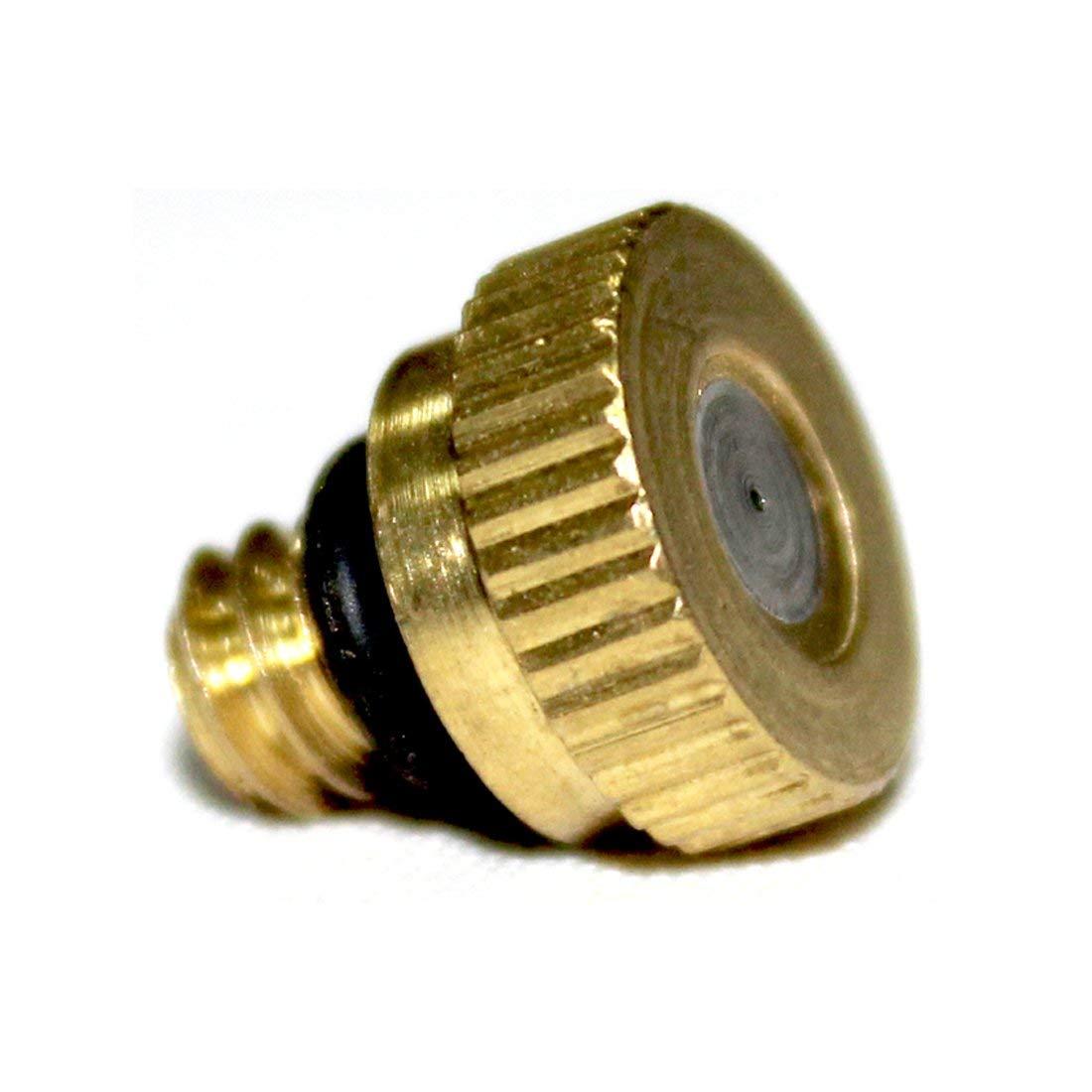 1//4BSP 0.8mm Orifice Spray Dia 304 Stainless Steel Fine Atomizing Mist Nozzle