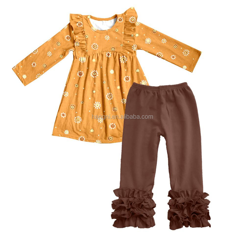 hot sale kids trendy clothing boutique fashion baby girl