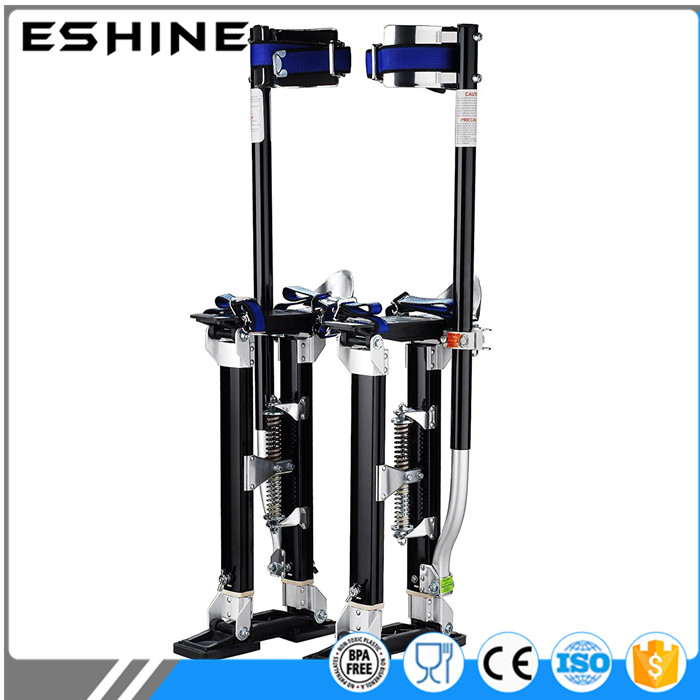 "Aluminum Tool Stilts 15"" to 23"" Adjustable Inch Drywall Stilt for Taping Painting Painter RED SILVER BLUE"