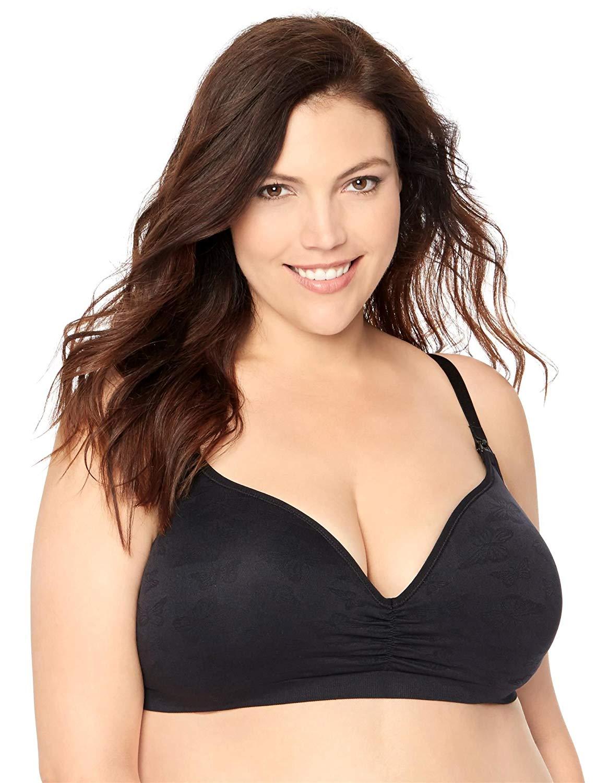 38d813db3df40 Get Quotations · Jessica Simpson Plus Size Seamless Clip Down Nursing Bra