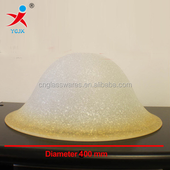 Aber Glass Lamp Shade/amber Glass Shade For Ceiling Lamp