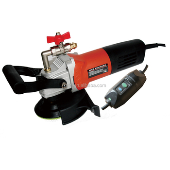 Handheld Electric Angle Wet Sander Marble Grinder Polishing Tool For Granite Concrete Stone
