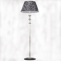 Modern Pattern Lampshade Stainless Steel Lampbody Hotel Floor Lamp