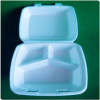 Disposable EPS foam food container/Clamshell box