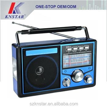 Knstar Am/fm Portable Radio Usb/sd Mp3 Player
