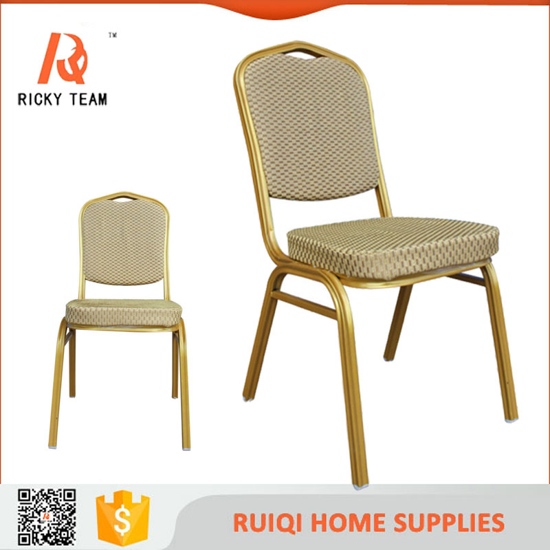 Hotel event stainless steel aluminum banquet chair