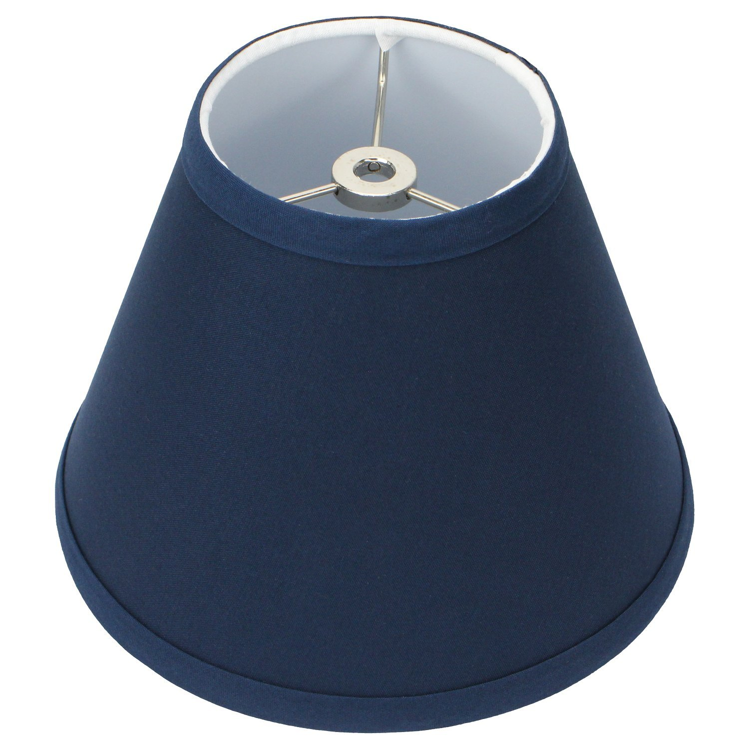 Cheap navy lamp shade find navy lamp shade deals on line at alibaba get quotations fenchelshades lamp shade 4x8x6 navy blue linen fabric this item does not clip aloadofball