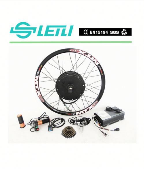 "72V3000w Electric Bicycle Conversion Kit City Ebike 26"" 3000W Super Power"