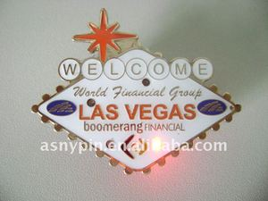 LAS VEGAS LED pin