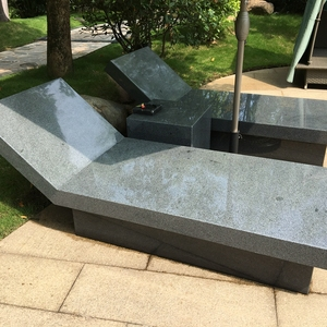 Natural Stone Granite Outdoor swimming pool lounge chair