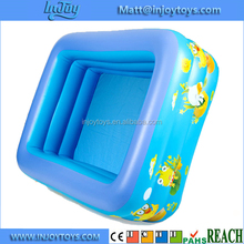 Whosale 3 Rings Kids Inflatable Paddling Swimming Seat Pool