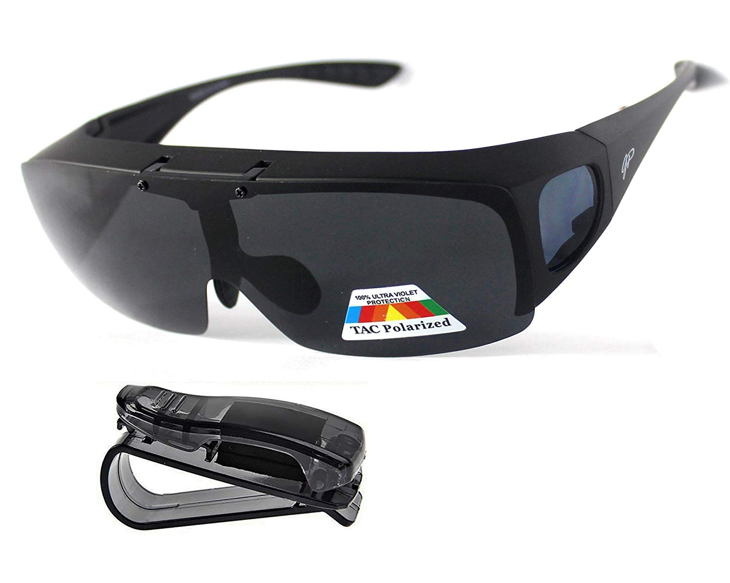 Polarised Sunglasses Wrap Around Over Prescription Driving Mens Womens UV400 NEW