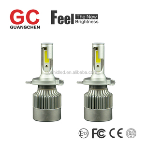the latest LED car headlight C6 H4 6000K