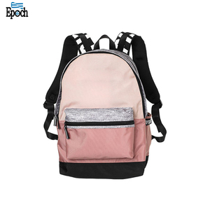 Wholesale perfect design beauty zipper closure girls backpack bag, vintage campus backpack