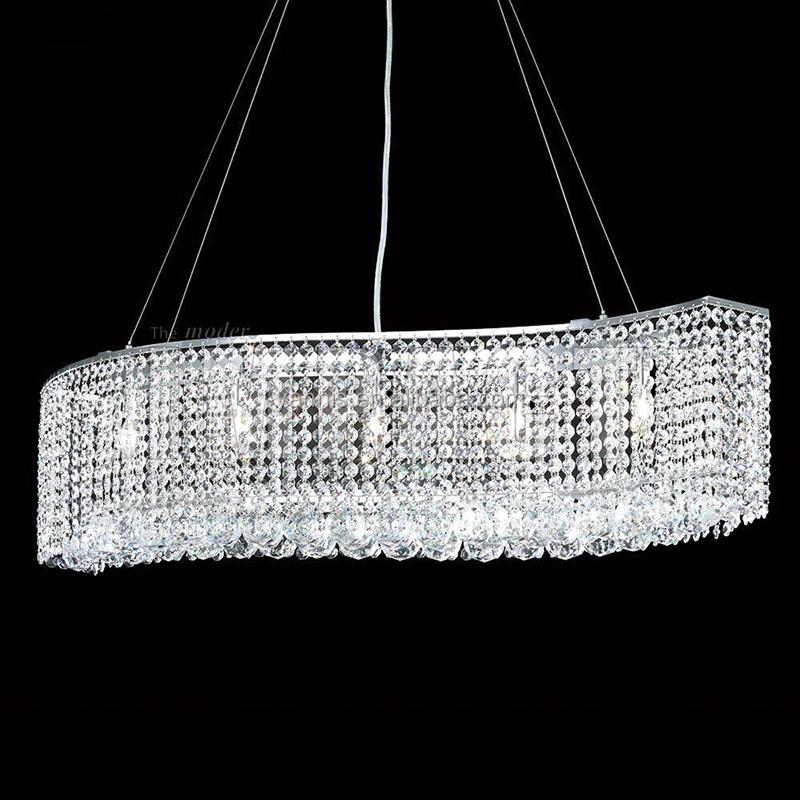 fuente de luz al por mayor led k lmpara de la sala de luz colgante de