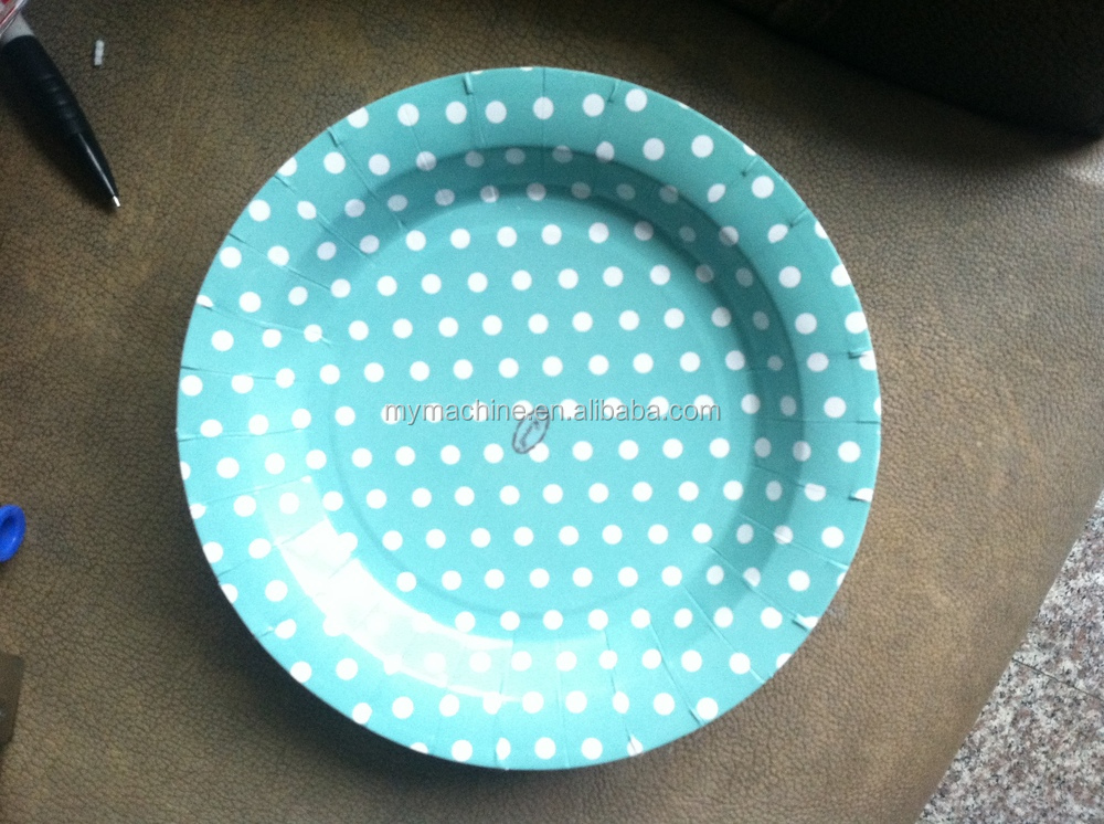 China Supplier Wholesale High Quality Paper Plate Manufacturing ...