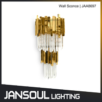 Zhongshan whole series factory-outlet hotel modern art deco wall sconce